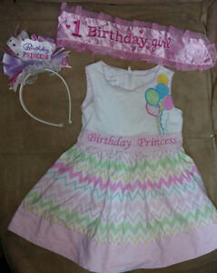 Birthday girl outfit (12-18 months)