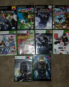Xbox 360 and old PS2/Gamecube Games