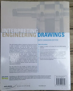 Interpreting enginering drawings Textbook Kitchener / Waterloo Kitchener Area image 2