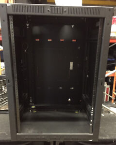 Used 16U Middle Atlantic Wall Mounted Rack w/ Hinged Rear Access