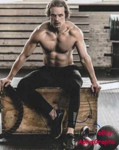 SAM HEUGHAN.. Sexy Shirtless Stud (Outlander) SIGNED