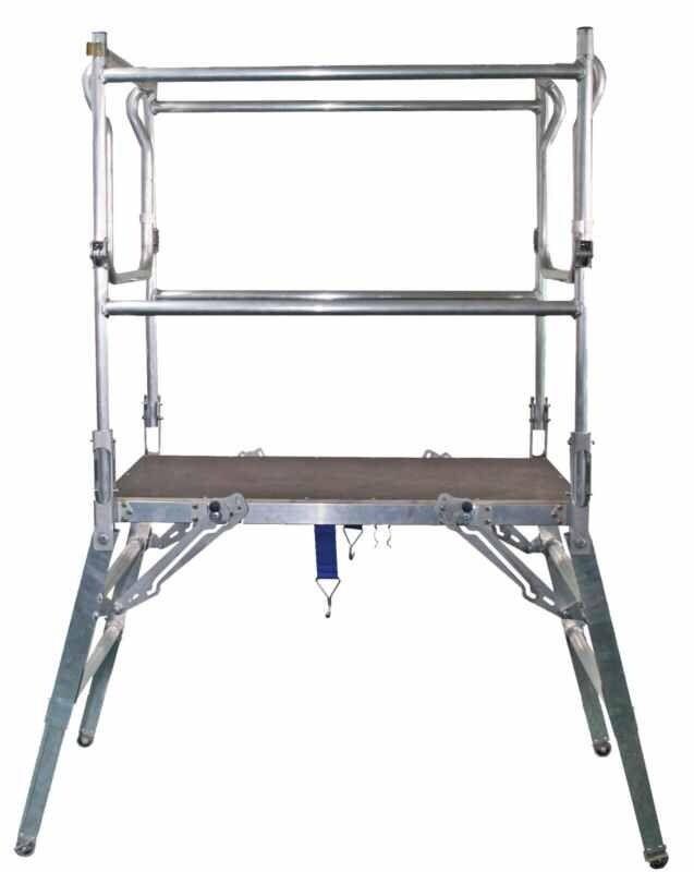 Hardly Used Delta Deck Low Level Work Platform Podium Step