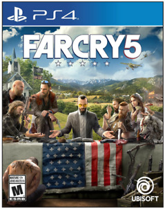 Farcry 5 for PS4