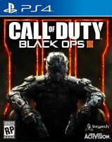 PS4 Call Of Duty Black Ops 3 Like New
