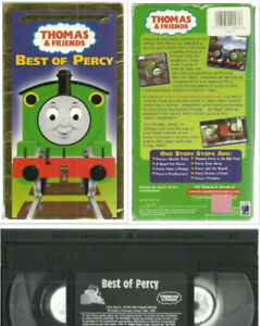 Thomas the Train & Friends VHS Best of Percy collectors editio