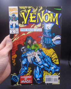 """VENOM - THE MACE PART TWO"" MARVEL COMICS C. 1994"
