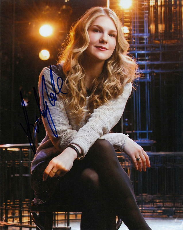 LILY RABE.. Alluring Actress (American Horror Story) SIGNED