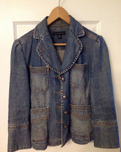 Ladies Banana Republic Jean Jacket size 4