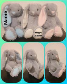 Medium Easter personalised Bunnies