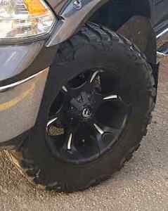 Fuel Rims Nitto Mud Grappler Tires