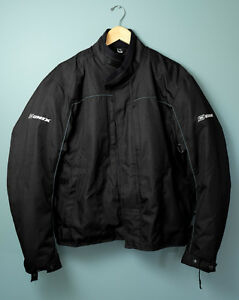 Men's Onix Motorcycle Jacket - Black - Size XL