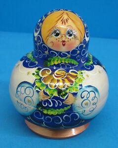 10 piece Russian Matryoshka Nesting Dolls