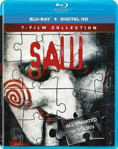 BLU-RAY! SAW ALL 7 UNRATED MOVIES BOX SET