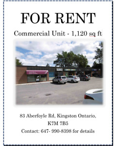 1,120 sqft Unit For Rent in Busy Plaza