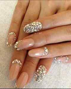 GEL NAILS ACRYLIC NAILS MANICURE SHELLAC PEDICURE