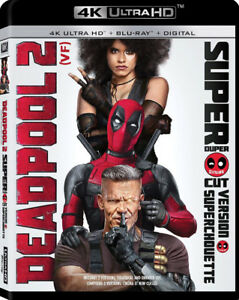 DEADPOOL 2 4K ULTRA HD BLU-RAY (DISC ONLY)