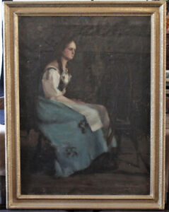 Fine Art Oil Painting By Listed Canadian Minnie Kallmeyer