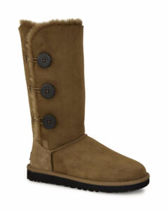 Brand New UGG Women's Bailey Button Triplet Boots For $110 Off