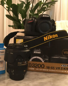 Nikon D3200 and AF-S DX NIKKOR 16-85mm f/3.5-5.6G ED VR - $700