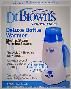 New Never Opened Dr. Brown Bottle Warmer