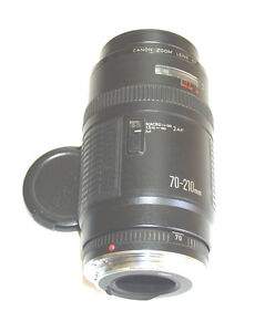 Canon Zoom 70-210 EF F4 autofocus in perfect conditions