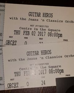 Guitar Heroes Centre in the Square Tickets