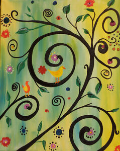 $20 OFF - PAINT PARTY AT SYMPOSIUM CAFE, GUELPH