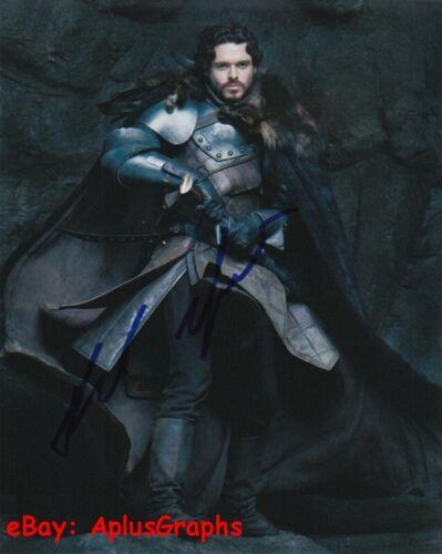 RICHARD MADDEN.. Game of Thrones' Robb Stark - SIGNED