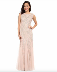 Beaded bridesmaid/mother of the bride/prom dress