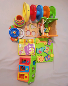 Baby to toddler learning toys