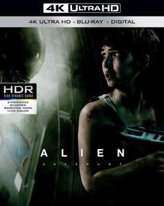 Alien Covenant UHD 4K HDR WCG Joué 1 fois, Disque 4k seulement