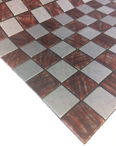 Metal Mosaic Tiles(Pack of 10 Pcs = 10 SqFt) Special Offer