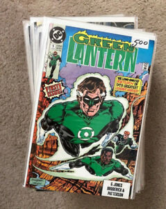 Green Lantern (1990) 1-43 complete! Most NM comics