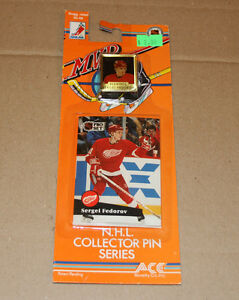 Pro Set 1991-92 hockey card and pin Strathcona County Edmonton Area image 2