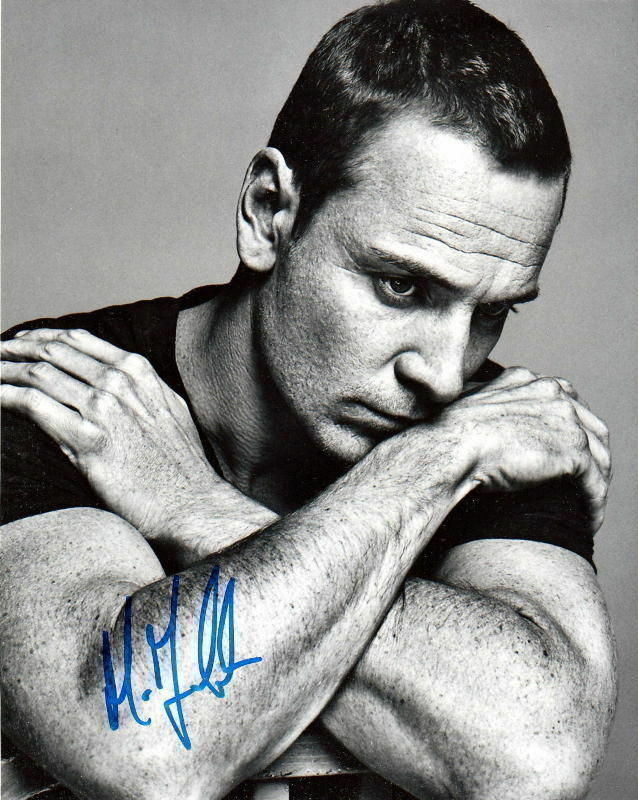 MICHAEL FASSBENDER.. Charismatic Actor - SIGNED