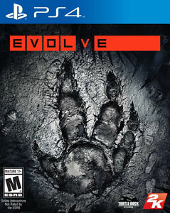 EVOLVE PS4 BRAND NEW FACTORY SEALED !!