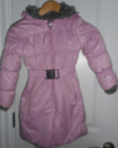 Girl's Pink Coat size 6