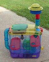 Crittertail cage for hamster, gerbil - in good condition