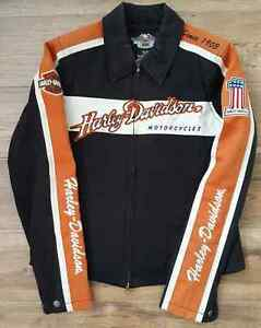Harley-Davidson Womens Prestige Cotton Casual Jacket (Small)