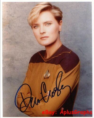 DENISE CROSBY... Star Trek: The Next Generation's Lt. Tasha Yar - SIGNED