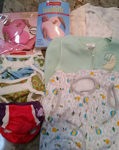 Swaddles/sleep sacks/diaper covers/swim diaper