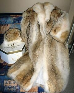Beautiful and Warm Wolf fur Coat for your special lady! West Island Greater Montréal image 3