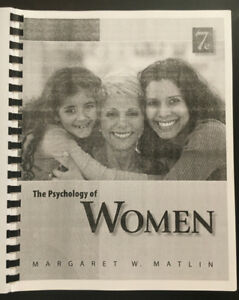 The Psychology of Women 7e - Matlin