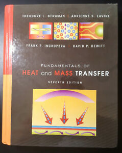 Fundamentals of Heat and Mass Transfer (Hardcover), 7th Edition