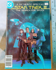 1985 DC Movie Special Star Trek III The Search For Spock Comic