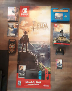 The Legend of Zelda Breath of the Wild Collectors