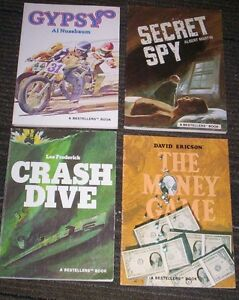 4 Bestellers Novels high interest low level Gypsy, Crash Dive... Kitchener / Waterloo Kitchener Area image 1