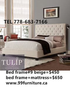 █♣█TULIP BRAND NEW~LUXURY FABRIC LINEN BED~ECO CHOICE!
