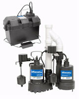 Reliable sump pump installation