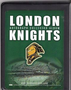 London Knights Autograph Album by the whole team. London Ontario image 2
